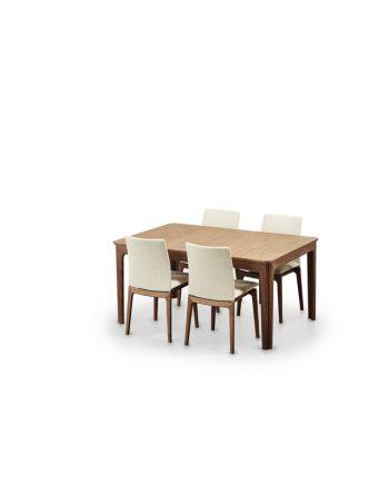 Sleipner Dining Table Haslev Danish Red