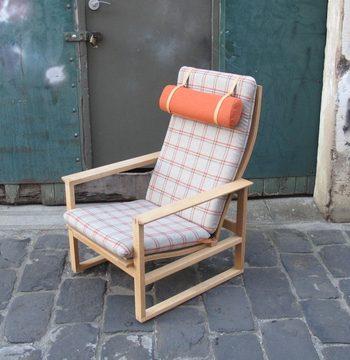 Børge Mogensen Sleigh Highback Armchair