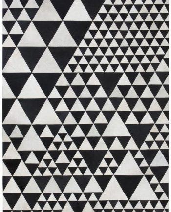 Linie Design PYRAMID rug White / Black