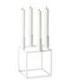 bylassen Kubus 4 Candleholder – White