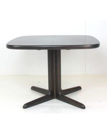 Dark Oak Pedestal Table