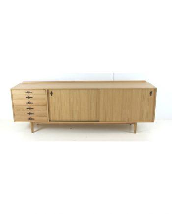 Danish Oak Sideboard with Wenge Detail