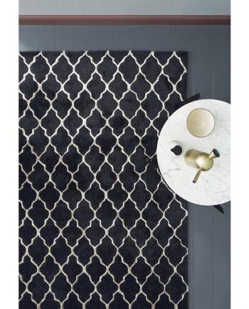 Linie Design CHIFA rug Silver in situ