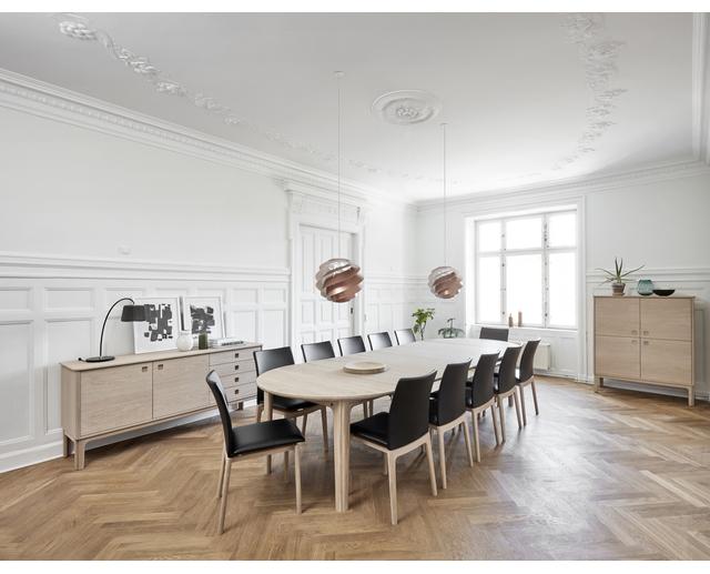 112 Dining Table Skovby Furniture Danish Red