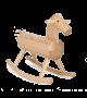 MOKUBA Rocking Horse by O&M Design  Solid Beech  | Brdr. Krüger