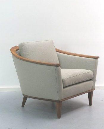 Bertil Fridhagen designed teak armchair by Broderna Andersson