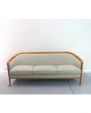 Bertil Fridhagen designed teak sofa by Broderna Andersson