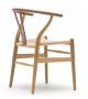 CH24 Wishbone Chair in oak   Designed by Hans Wegner   Carl Hansen & Søn