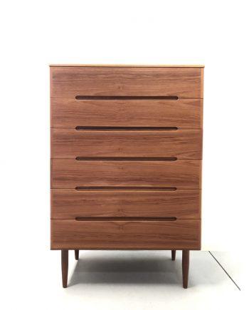 Danish Teak Tallboy Cabinet