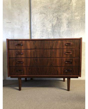 Danish Vintage Rosewood Drawer Unit