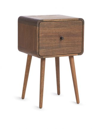 The Box bedside table | Via Cph | Smoked Oak