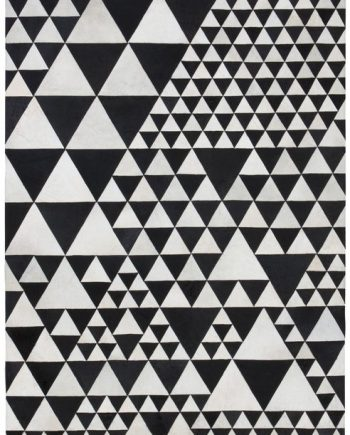 Linie Design PYRAMID rug White / Black