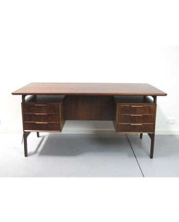 Model 75 Desk in Rosewood by Omann Jun