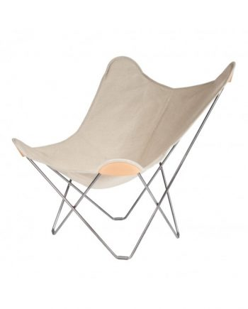 CUERO Butterfly Chair - Canvas