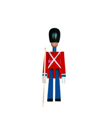 Kay Bojesen Guardsman with rifle front