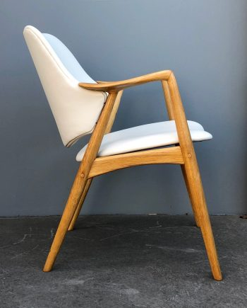 Midcentury Danish Oak Armchair