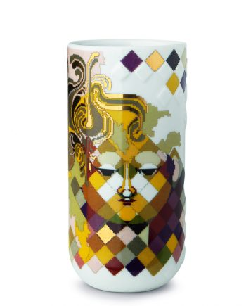 Bjorn Wiinblad | Gobelin Vase - multi-colour H 18 cm