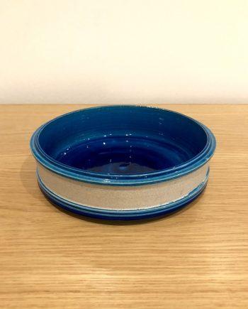 Vintage Danish ceramic glazed bowl by Kähler