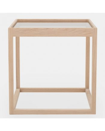 Cube Table by Kurt Østervig - oak | Klassik Studio