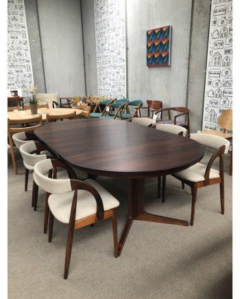 Danish Pedestal Dining Table