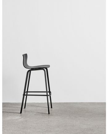 Butterfly Bar Chair by Magnus Olesen in black timber