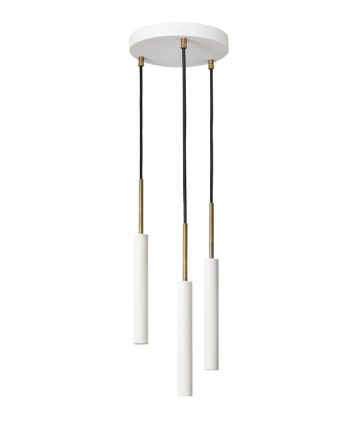 Stav 3 Pendant White Model 3436-4 by Konsthantverk