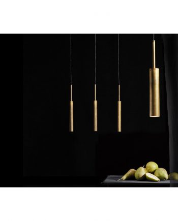 Stav XL Pendant Brass Model 3450-6 with others by Konsthantverk