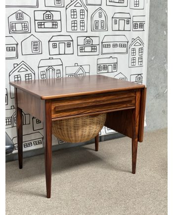 Vintage Sewing Table | Rosewood