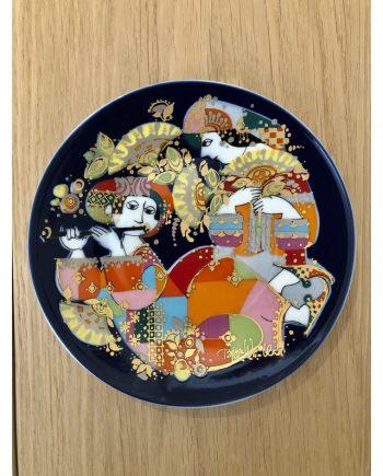 Vintage Danish Decorative Plate | Bjørn Wiinblad | Rosendahl
