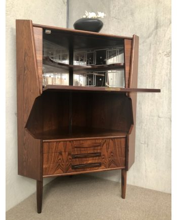 Danish Vintage Corner Unit | Rosewood | Open
