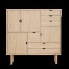 Unique's Highboard | Andersen Furniture | Oak veneer