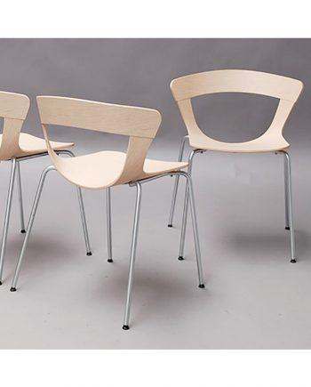Mundo Dining Chair in Oak | Danerka