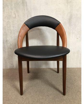 Rare Danish vintage 'Hoop Chair' in Teak | Arne Hovmand Olsen